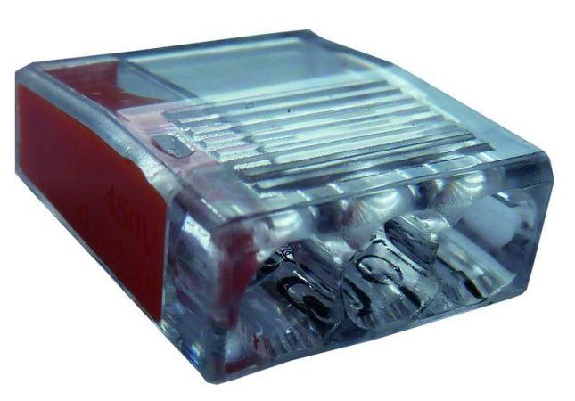 Złączka instalacyjna PSK 325O zaciski: 3x1-2,5mm2 pomarańczowa (opak. 100szt.) | 05103949 054423 Protec.class