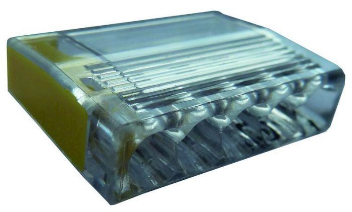 Złączka instalacyjna PSK 525GE zaciski: 5x 1-2,5mm2 żółta (opak. 100szt.) | 05103951 054425 Protec.class