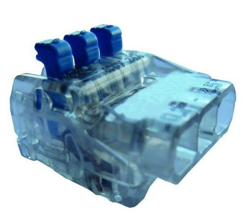Złączka instalacyjna z dźwignią PSK 325H linka/drut | 05104412 054879 Protec.class