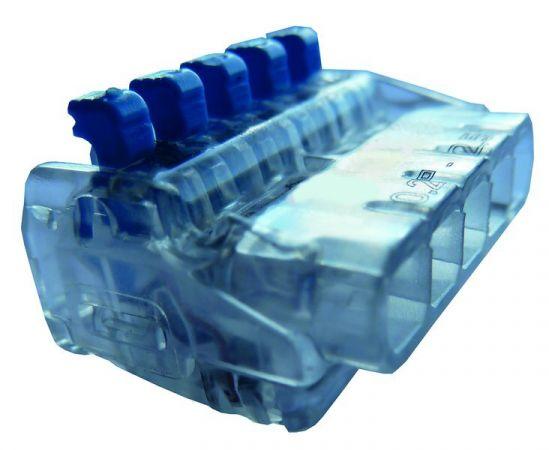 Złączka instalacyjna z dźwignią PSK 525H linka/drut | 05104413 054880 Protec.class