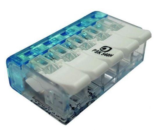 Złączka instalacyjna z dźwignią PSK 540H 5x0,2-4,0mm2 055862 (opak. 25szt.) | 05105293 Protec.class