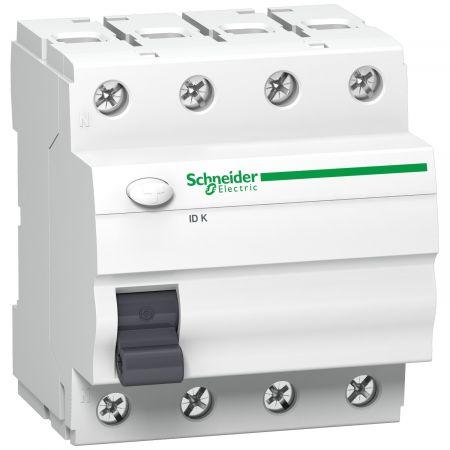 Wyłącznik różnicowo-prądowy ID K 40A 30mA AC 4P, Acti 9   A9Z05440 Schneider Electric