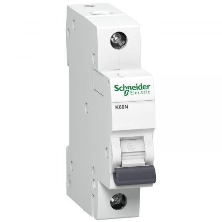 Wyłącznik nadprądowy K 60N 6KA B16 1P, Acti 9 | A9K01116 Schneider Electric