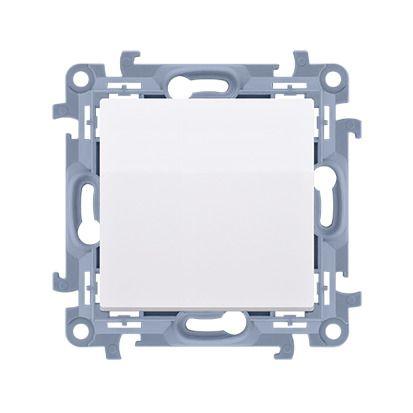 Łącznik jednobiegunowy (moduł) 10AX, 250V, zaciski śrubowe, biały Simon 10   CW1.01/11 Kontakt Simon