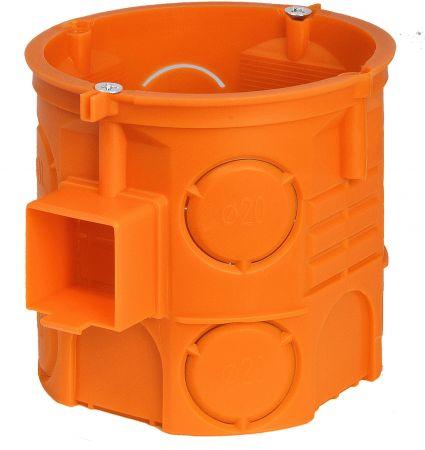 Puszka instalacyjna p/t 60 łączona, głęboka z wkrętami S60DFW pomarańczowa | 33069008 Simet