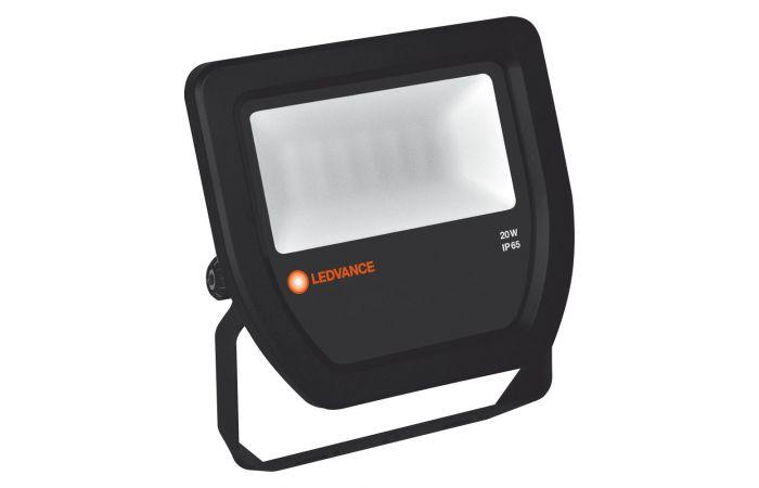 Naświetlacz FLOODLIGHT LED 20W/4000K black 100st. IP65 | 4058075097483 Ledvance