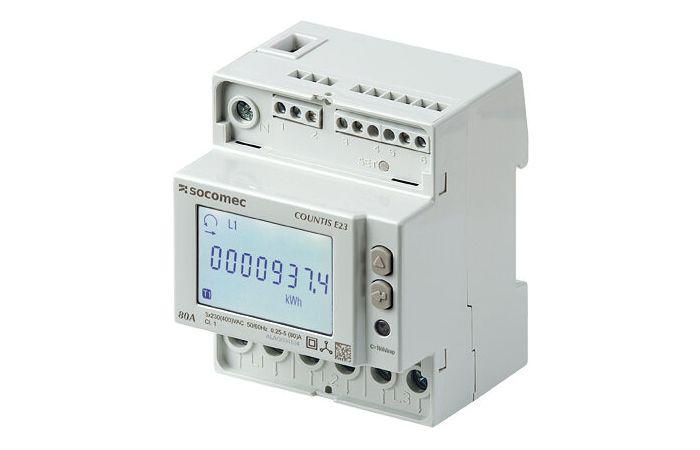 Licznik energii Countis E24 3-fazowy bezpośredni do 80A RS485 Modbus MID | 48503051 Socomec