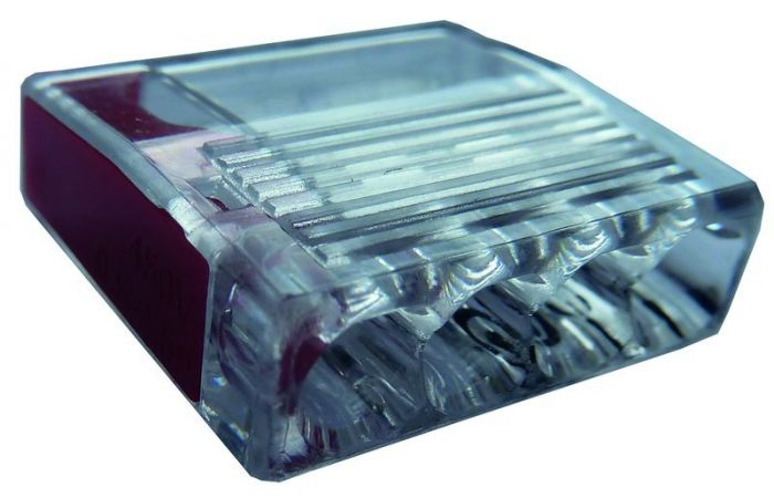 Złączka instalacyjna PSK 425R zaciski: 4x1-2,5mm2 czerwona (opak. 100szt.) | 05103950 054424 Protec.class