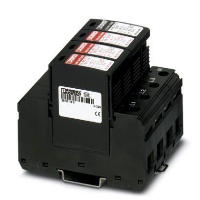 Odgromnik/ogranicznik przepięć typ 1/2 VAL-MS-T1/T2 335/12.5/3+1 | 2800184 Phoenix