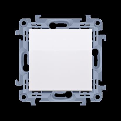 Łącznik jednobiegunowy (moduł) 10AX, 250V, zaciski śrubowe, biały Simon 10 | CW1.01/11 Kontakt Simon