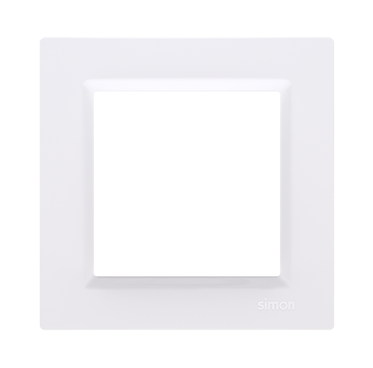 Ramka pojedyncza uniwersalna biała Simon 10 | CR1/11 Kontakt Simon