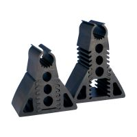Podpory gumowe, regulowane nVent CADDY Pyramid EZ, 25 DN, 33mm OD, 127-178mm, RPSE1H57 | 182370 Caddy